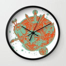 hairball 2 Wall Clock