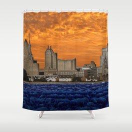 Beau-Fleuve Shower Curtain
