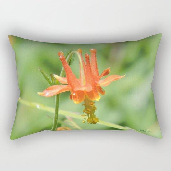 Columbine in the Breeze Rectangular Pillow
