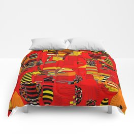 Grand Finale - Red Sky Comforters