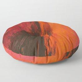 Abstract Wine by Robert S. Lee Floor Pillow