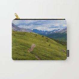 Views Along the Wilcox Pass Trail in Jasper National Park, Canada Carry-All Pouch