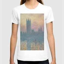 The Houses of Parliament  Sunset by Claude Monet T-shirt