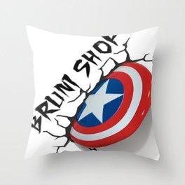 BS- Capt. America Throw Pillow