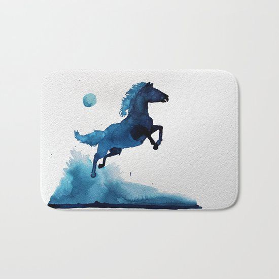 Equus ferus caballus Bath Mat