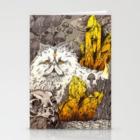 witchcraft Stationery Cards featuring Witchcraft by Angela Rizza