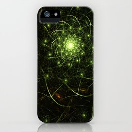 Kaos Entwined Flame Fractal iPhone Case
