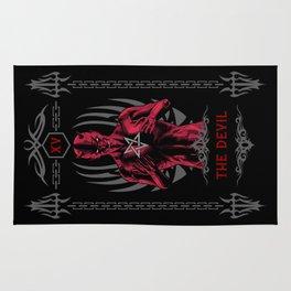 The Devil XV Tarot Card Rug