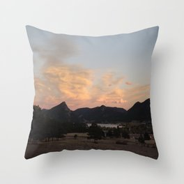 Sunset at the Stanley Throw Pillow