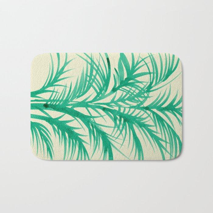 Mint Palms Bath Mat