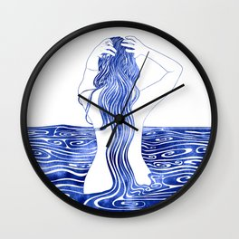Nereid XI Wall Clock