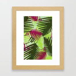Un-Camo Project LIME Framed Art Print