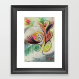 MindCloud Framed Art Print