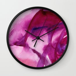 Floral being Wall Clock