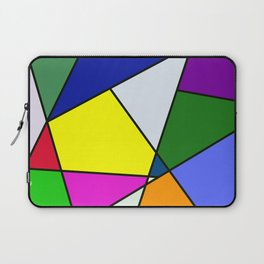 Colorful Line Pattern Laptop Sleeve