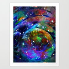 Another Solar System Art Print