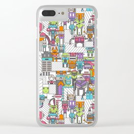 Droid City Clear iPhone Case