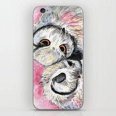owl snuggles iPhone & iPod Skin