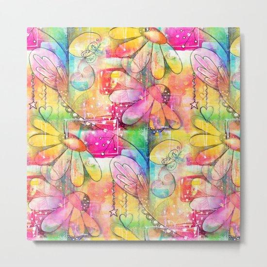 Flowers Dreams Metal Print
