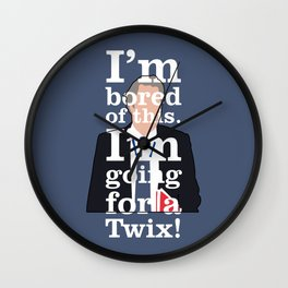 The Thick of It - Peter Mannion Wall Clock