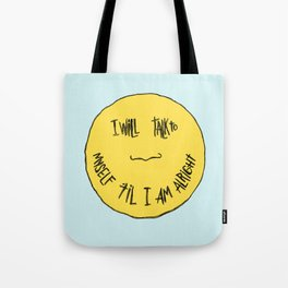 YELLOW OSTRICH Tote Bag