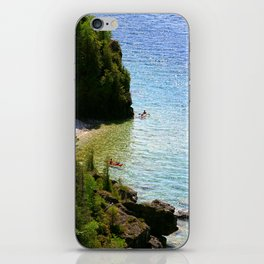 Lions Head Kayakers iPhone Skin
