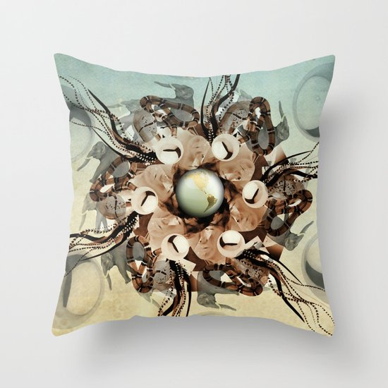 viper in the mix Throw Pillow