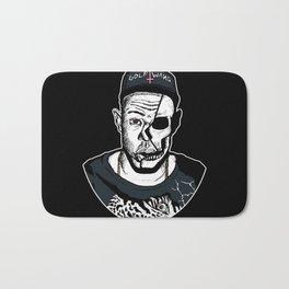 Golf Wang - Tyler The Creator Skull Ink Print Bath Mat
