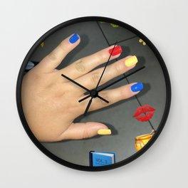 emma chamberlain inspired design Wall Clock