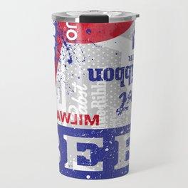 Beer Me: PBR Travel Mug