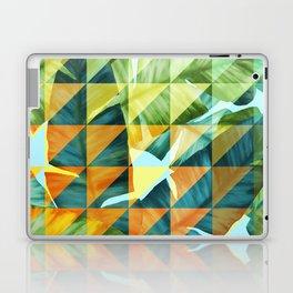 Abstract Geometric Tropical Banana Leaves Pattern Laptop & iPad Skin
