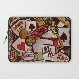 The hurrier I go, the behinder I get Laptop Sleeve