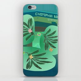 Chlorofyll Bank Station iPhone Skin
