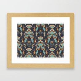 PETAL STACK Framed Art Print