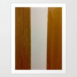 Wood Canvas Wood Art Print