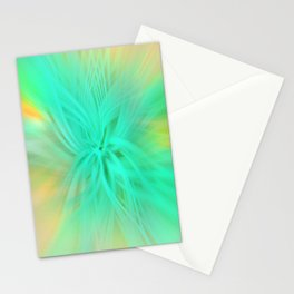 Abstract Mekong Stationery Cards