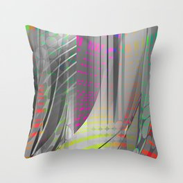 tech savy Throw Pillow
