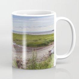 INUKSHUK near St laurent river québec canada Coffee Mug