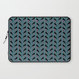 Black bird pattern Laptop Sleeve