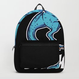 Funny T-rex Meme Dino With Overbite Party Shirt Backpack