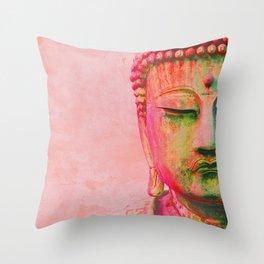 Bodhi बुद्ध Throw Pillow
