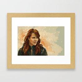 Helen Magnus Framed Art Print