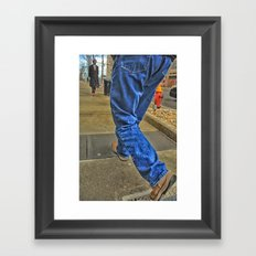 Walk The Truth Framed Art Print