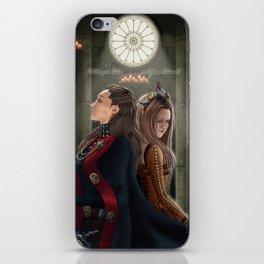 Clexa Medieval AU iPhone Skin