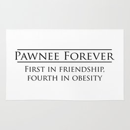 Parks and Recreation - Pawnee Forever Rug