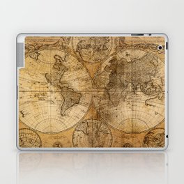 World Map 1746 Laptop & iPad Skin