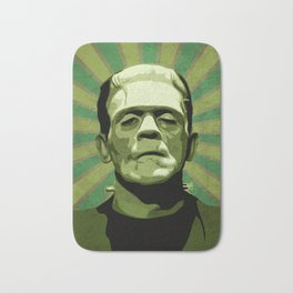 Frankenstein - Pop Art Bath Mat