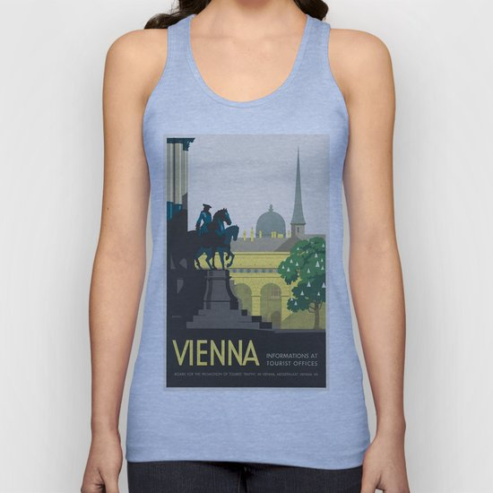 Vintage poster - Vienna by mosfunky