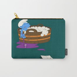 SUICIDAL SMURF  Carry-All Pouch
