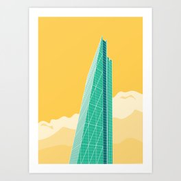 The Cheesegrater Art Print